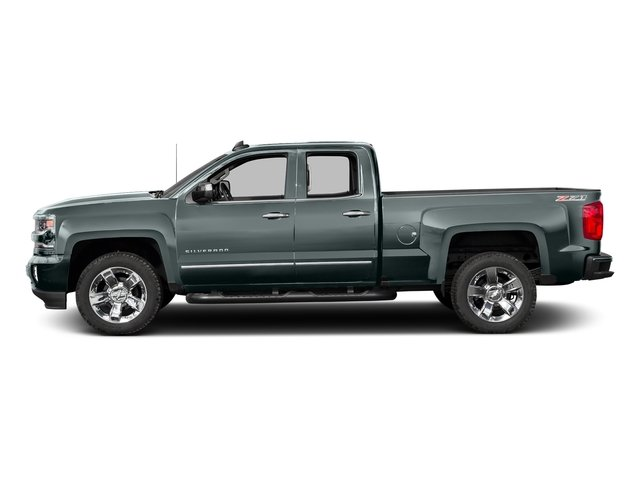 Slate Grey Metallic 2016 Chevrolet Silverado 1500 Pictures Silverado 1500 Extended Cab LTZ 2WD photos side view