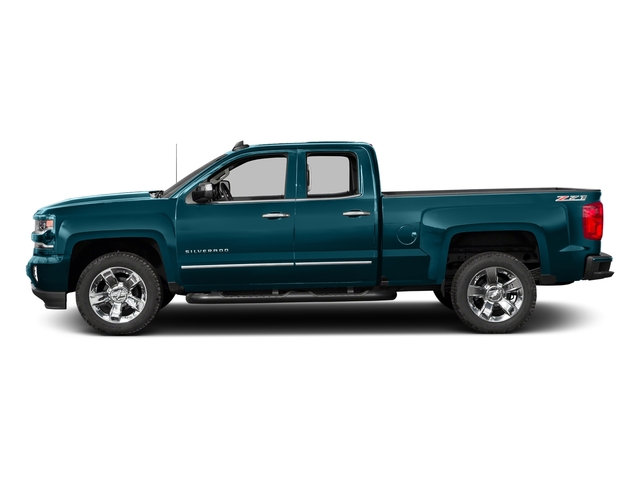 Deep Ocean Blue Metallic 2016 Chevrolet Silverado 1500 Pictures Silverado 1500 Extended Cab LTZ 2WD photos side view