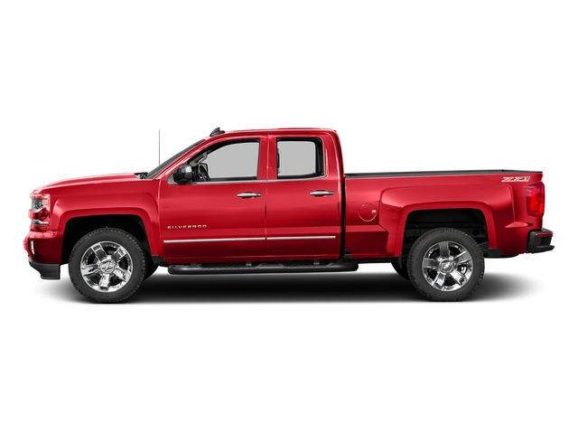 Red Hot 2016 Chevrolet Silverado 1500 Pictures Silverado 1500 Extended Cab LTZ 2WD photos side view