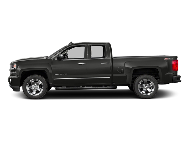 Tungsten Metallic 2016 Chevrolet Silverado 1500 Pictures Silverado 1500 Extended Cab LTZ 2WD photos side view
