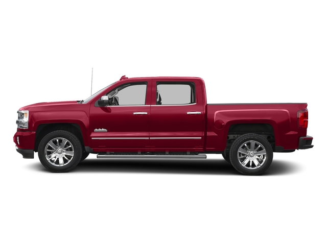 Siren Red Tintcoat 2016 Chevrolet Silverado 1500 Pictures Silverado 1500 Crew Cab High Country 2WD photos side view