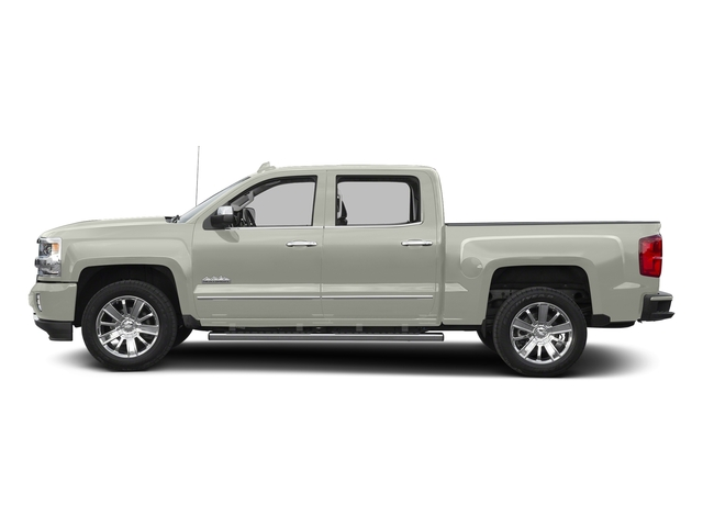 Iridescent Pearl Tricoat 2016 Chevrolet Silverado 1500 Pictures Silverado 1500 Crew Cab High Country 2WD photos side view