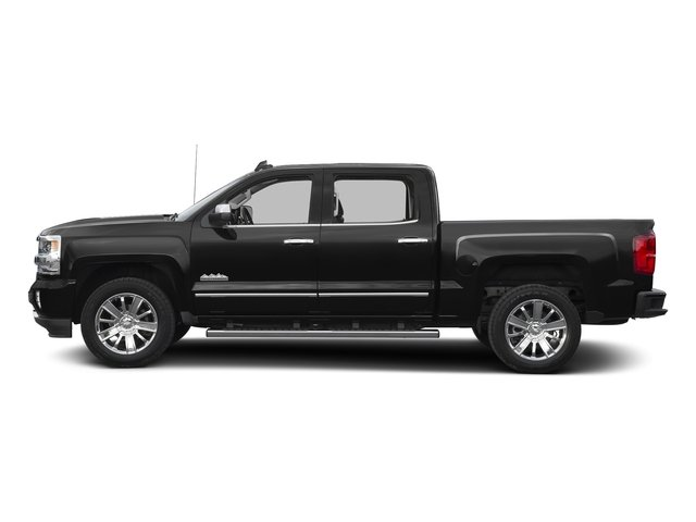 Black 2016 Chevrolet Silverado 1500 Pictures Silverado 1500 Crew Cab High Country 2WD photos side view