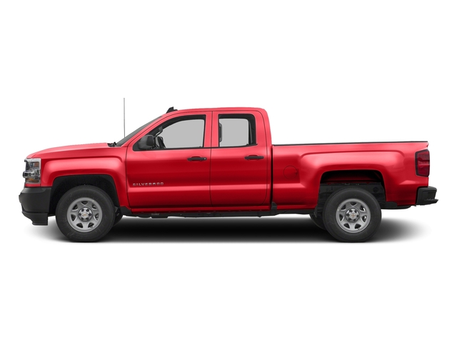 Red Hot 2016 Chevrolet Silverado 1500 Pictures Silverado 1500 Extended Cab Work Truck 4WD photos side view