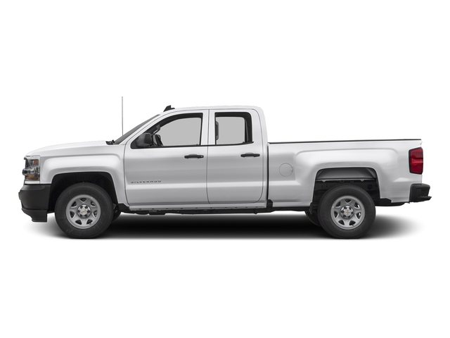Summit White 2016 Chevrolet Silverado 1500 Pictures Silverado 1500 Extended Cab Work Truck 4WD photos side view