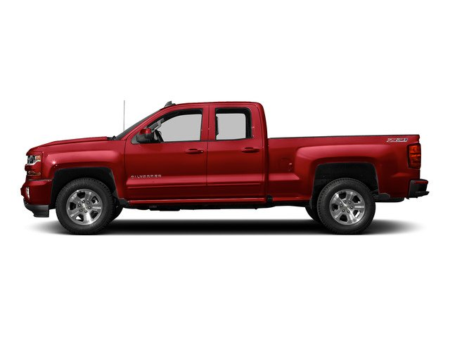 Red Hot 2016 Chevrolet Silverado 1500 Pictures Silverado 1500 Extended Cab LT 2WD photos side view