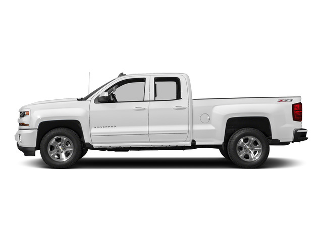 Summit White 2016 Chevrolet Silverado 1500 Pictures Silverado 1500 Extended Cab LT 2WD photos side view