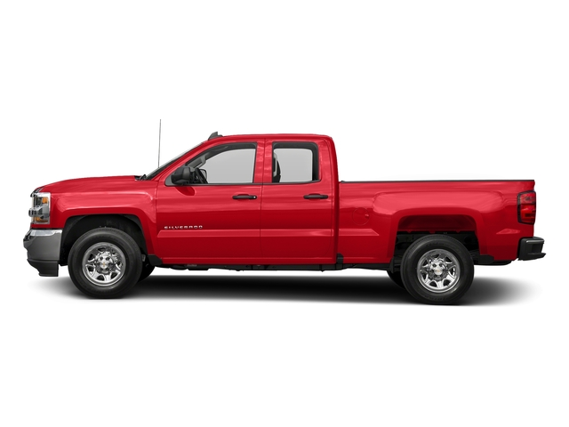 Red Hot 2016 Chevrolet Silverado 1500 Pictures Silverado 1500 Extended Cab LS 4WD photos side view