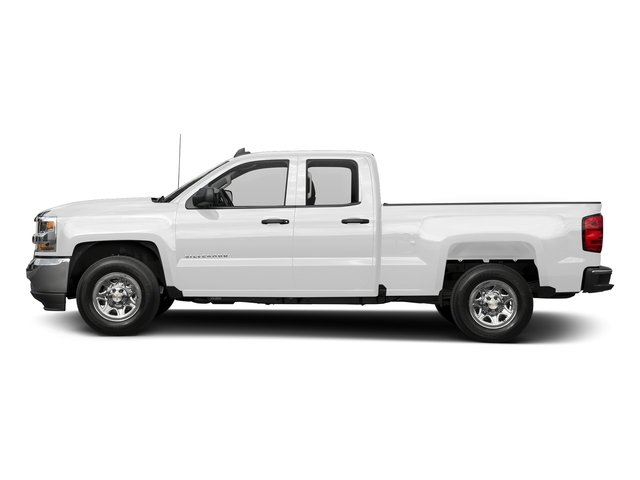 Summit White 2016 Chevrolet Silverado 1500 Pictures Silverado 1500 Extended Cab LS 4WD photos side view