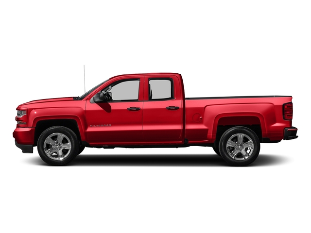 Red Hot 2016 Chevrolet Silverado 1500 Pictures Silverado 1500 Extended Cab Custom 2WD photos side view