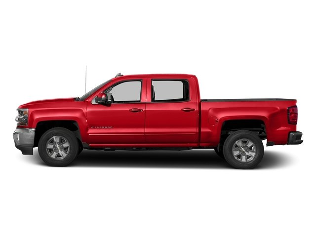 Red Hot 2016 Chevrolet Silverado 1500 Pictures Silverado 1500 Crew Cab Custom 2WD photos side view