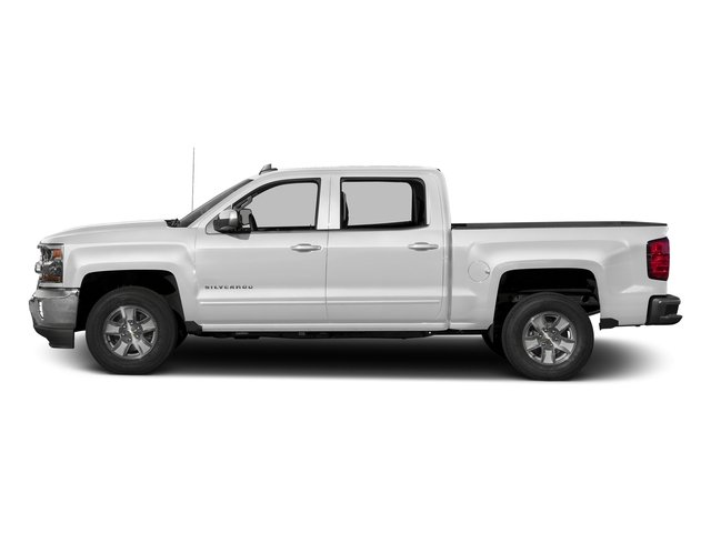Summit White 2016 Chevrolet Silverado 1500 Pictures Silverado 1500 Crew Cab Custom 2WD photos side view