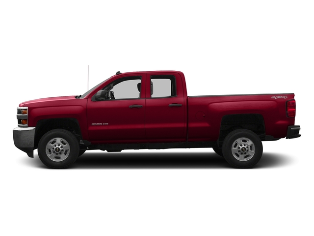 Siren Red Tintcoat 2016 Chevrolet Silverado 2500HD Pictures Silverado 2500HD Extended Cab LT 4WD photos side view