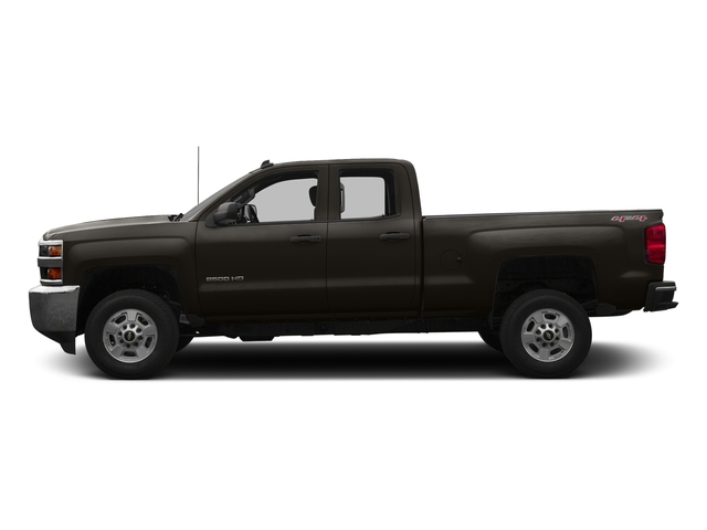 Autumn Bronze Metallic 2016 Chevrolet Silverado 3500HD Pictures Silverado 3500HD Extended Cab LT 2WD photos side view