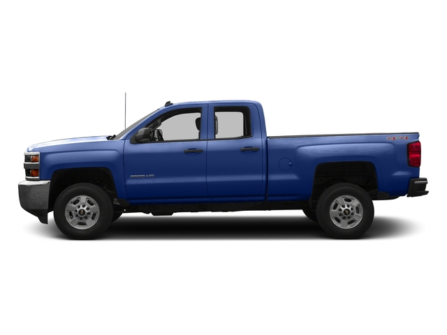 Deep Ocean Blue Metallic 2016 Chevrolet Silverado 2500HD Pictures Silverado 2500HD Extended Cab LT 4WD photos side view