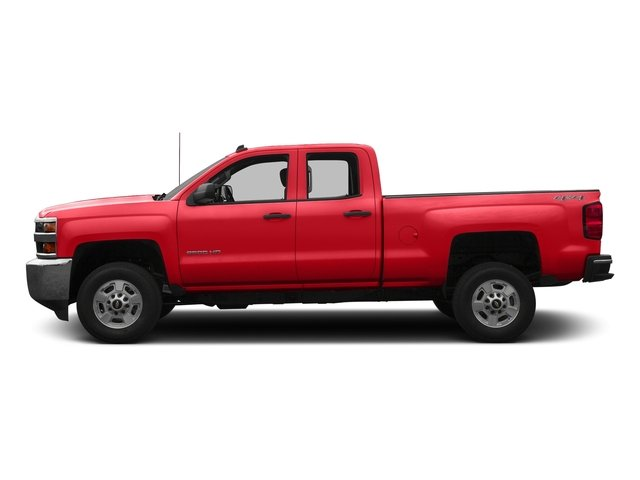 Red Hot 2016 Chevrolet Silverado 2500HD Pictures Silverado 2500HD Extended Cab LT 4WD photos side view