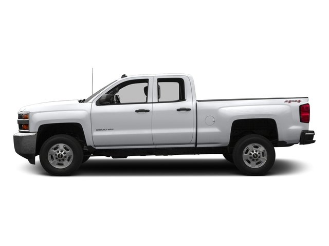 Silver Ice Metallic 2016 Chevrolet Silverado 2500HD Pictures Silverado 2500HD Extended Cab LT 4WD photos side view