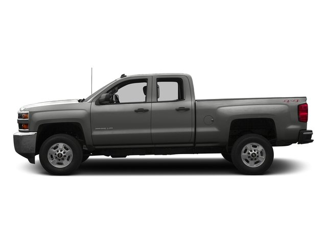 Tungsten Metallic 2016 Chevrolet Silverado 2500HD Pictures Silverado 2500HD Extended Cab LT 4WD photos side view