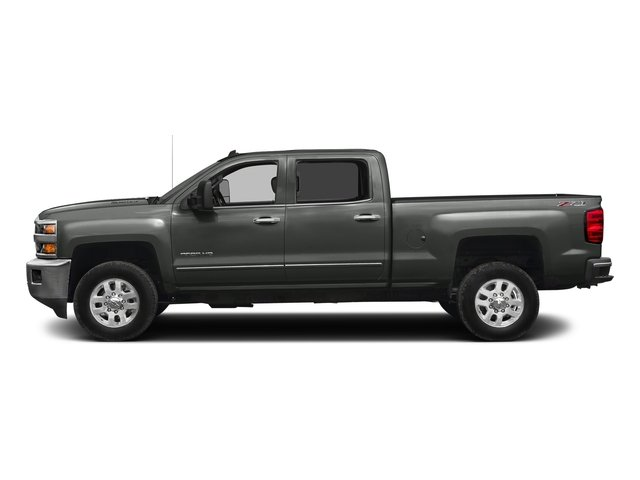 Slate Grey Metallic 2016 Chevrolet Silverado 2500HD Pictures Silverado 2500HD Crew Cab LTZ 2WD photos side view