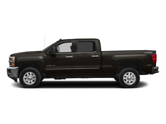 Autumn Bronze Metallic 2016 Chevrolet Silverado 2500HD Pictures Silverado 2500HD Crew Cab LTZ 2WD photos side view
