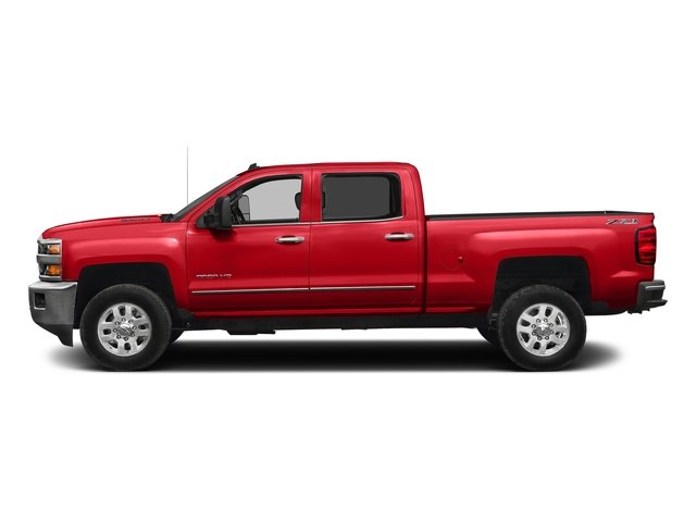 Red Hot 2016 Chevrolet Silverado 2500HD Pictures Silverado 2500HD Crew Cab LTZ 2WD photos side view