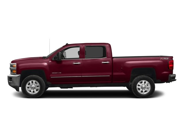 Butte Red Metallic 2016 Chevrolet Silverado 2500HD Pictures Silverado 2500HD Crew Cab LTZ 2WD photos side view