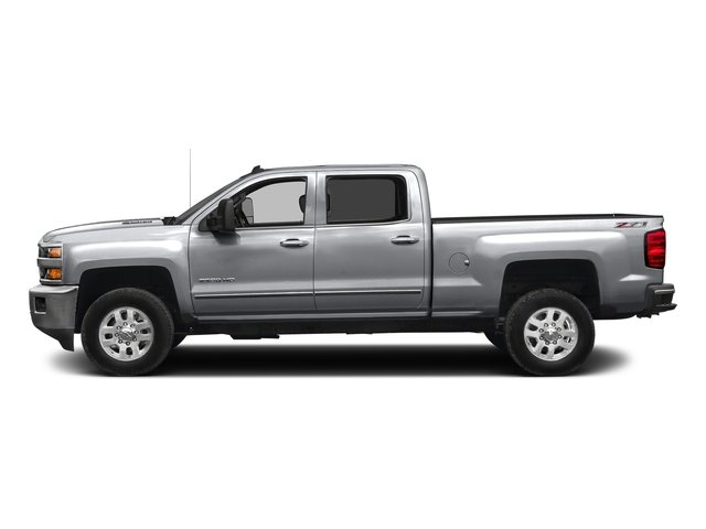 Silver Ice Metallic 2016 Chevrolet Silverado 2500HD Pictures Silverado 2500HD Crew Cab LTZ 2WD photos side view