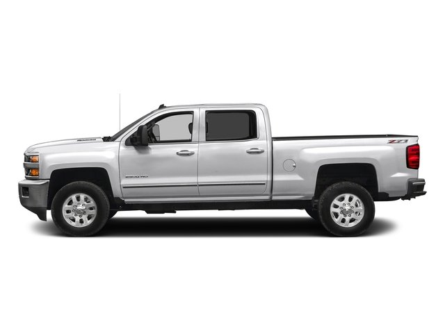Summit White 2016 Chevrolet Silverado 2500HD Pictures Silverado 2500HD Crew Cab LTZ 2WD photos side view