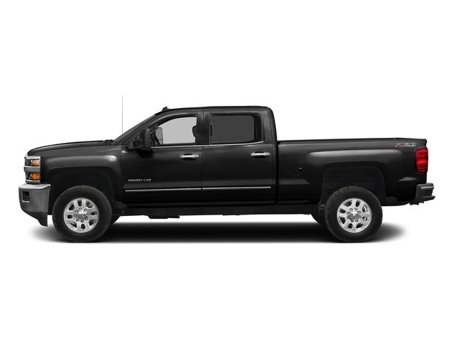 Black 2016 Chevrolet Silverado 2500HD Pictures Silverado 2500HD Crew Cab LTZ 2WD photos side view