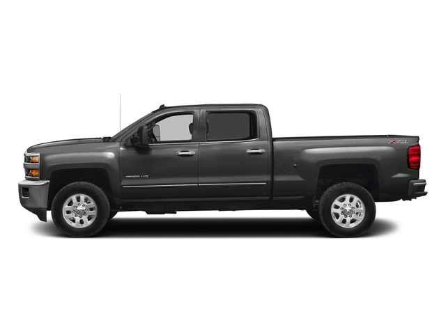 Tungsten Metallic 2016 Chevrolet Silverado 2500HD Pictures Silverado 2500HD Crew Cab LTZ 2WD photos side view