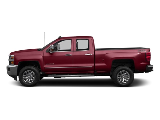 Siren Red Tintcoat 2016 Chevrolet Silverado 2500HD Pictures Silverado 2500HD Extended Cab LTZ 4WD photos side view