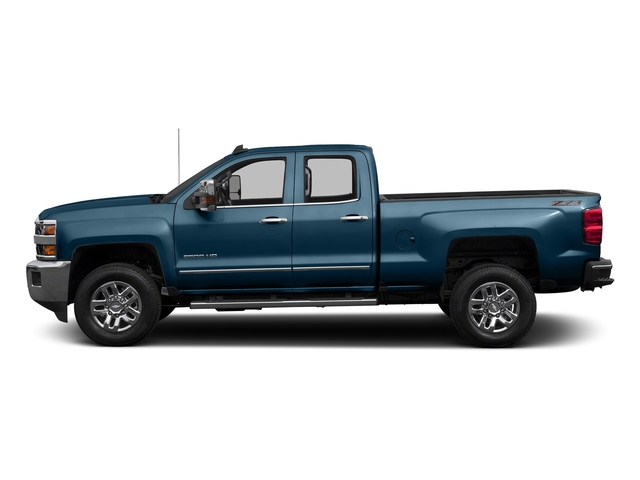 Deep Ocean Blue Metallic 2016 Chevrolet Silverado 2500HD Pictures Silverado 2500HD Extended Cab LTZ 4WD photos side view