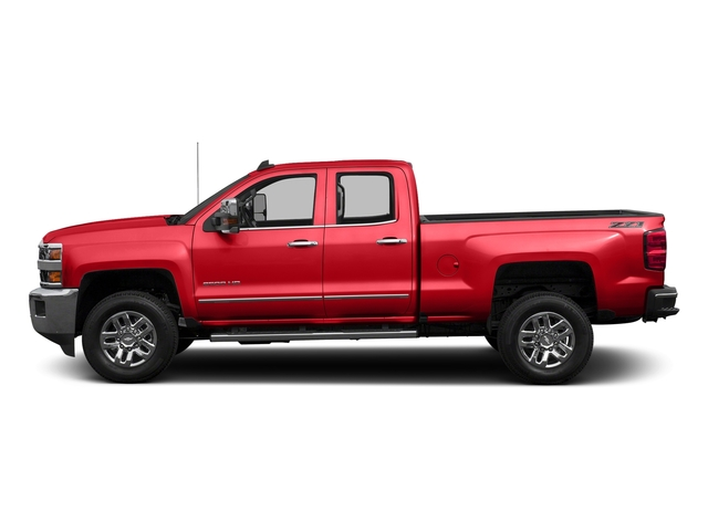 Red Hot 2016 Chevrolet Silverado 2500HD Pictures Silverado 2500HD Extended Cab LTZ 4WD photos side view