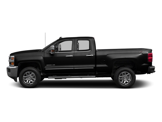 Black 2016 Chevrolet Silverado 2500HD Pictures Silverado 2500HD Extended Cab LTZ 4WD photos side view