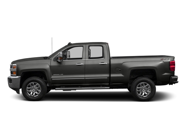 Tungsten Metallic 2016 Chevrolet Silverado 2500HD Pictures Silverado 2500HD Extended Cab LTZ 4WD photos side view