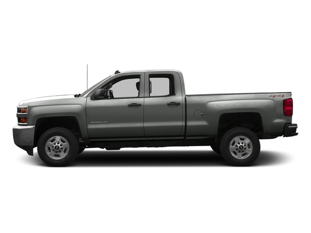 Slate Grey Metallic 2016 Chevrolet Silverado 2500HD Pictures Silverado 2500HD Extended Cab Work Truck 4WD photos side view