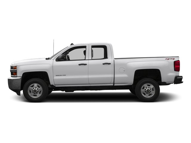 Summit White 2016 Chevrolet Silverado 2500HD Pictures Silverado 2500HD Extended Cab Work Truck 4WD photos side view