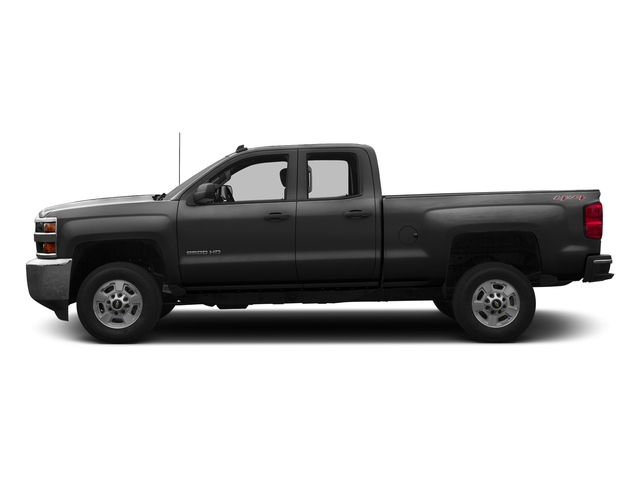 Black 2016 Chevrolet Silverado 2500HD Pictures Silverado 2500HD Extended Cab Work Truck 4WD photos side view
