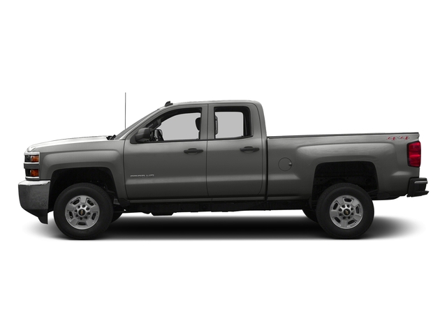 Tungsten Metallic 2016 Chevrolet Silverado 2500HD Pictures Silverado 2500HD Extended Cab Work Truck 2WD photos side view