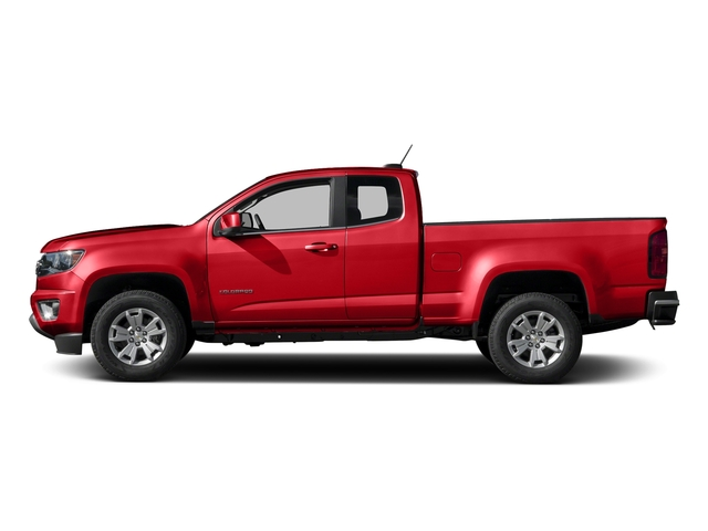 Red Hot 2016 Chevrolet Colorado Pictures Colorado Extended Cab LT 4WD photos side view