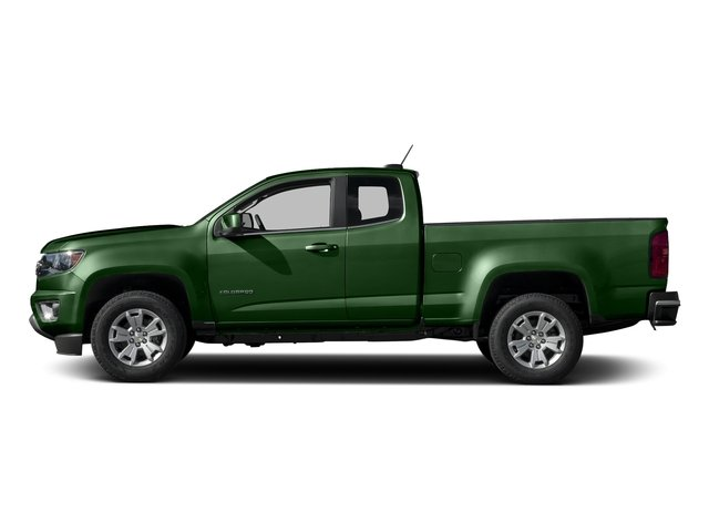 Rainforest Green Metallic 2016 Chevrolet Colorado Pictures Colorado Extended Cab LT 2WD photos side view