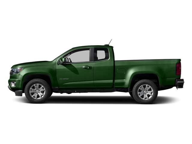 Rainforest Green Metallic 2016 Chevrolet Colorado Pictures Colorado Extended Cab LT 4WD photos side view