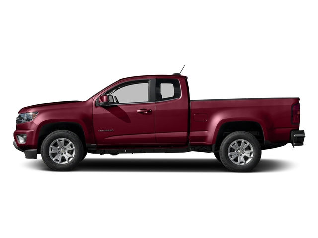Red Rock Metallic 2016 Chevrolet Colorado Pictures Colorado Extended Cab LT 2WD photos side view
