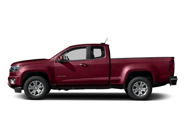 Red Rock Metallic 2016 Chevrolet Colorado Pictures Colorado Extended Cab LT 4WD photos side view