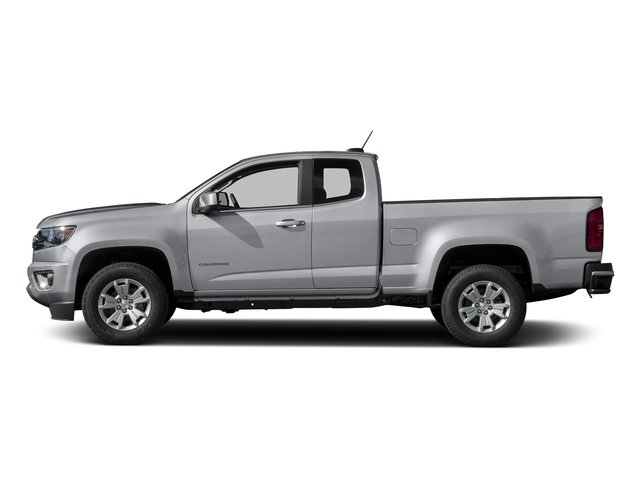 Silver Ice Metallic 2016 Chevrolet Colorado Pictures Colorado Extended Cab LT 4WD photos side view
