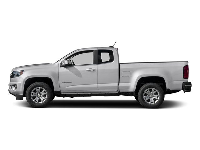 Summit White 2016 Chevrolet Colorado Pictures Colorado Extended Cab LT 4WD photos side view