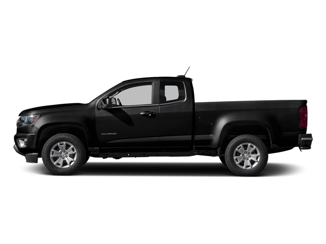 Black 2016 Chevrolet Colorado Pictures Colorado Extended Cab LT 4WD photos side view