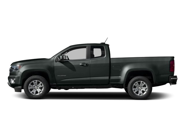 Cyber Gray Metallic 2016 Chevrolet Colorado Pictures Colorado Extended Cab LT 4WD photos side view
