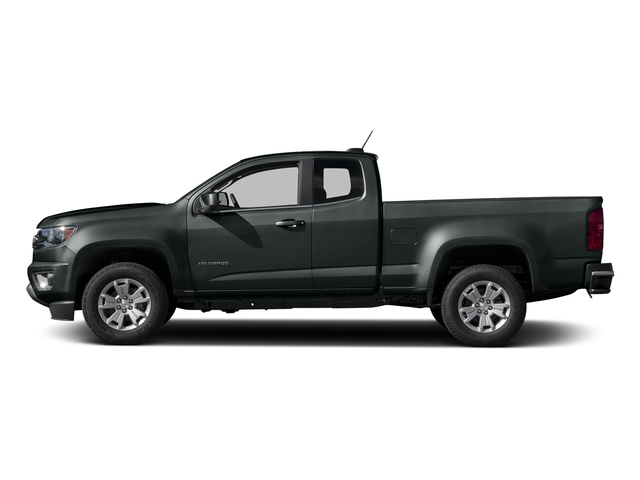 Cyber Gray Metallic 2016 Chevrolet Colorado Pictures Colorado Extended Cab LT 2WD photos side view