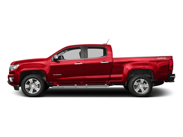 Red Hot 2016 Chevrolet Colorado Pictures Colorado Crew Cab LT 4WD T-Diesel photos side view